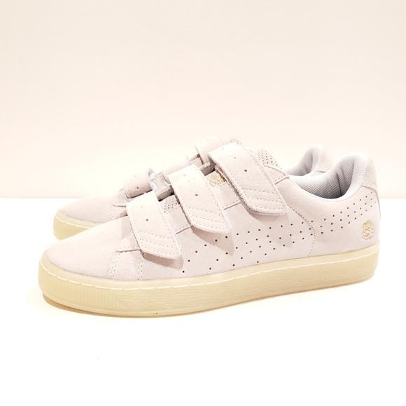 size 40 9a66c 705fe Puma X Careaux Basket Strap Sneakers In Beige